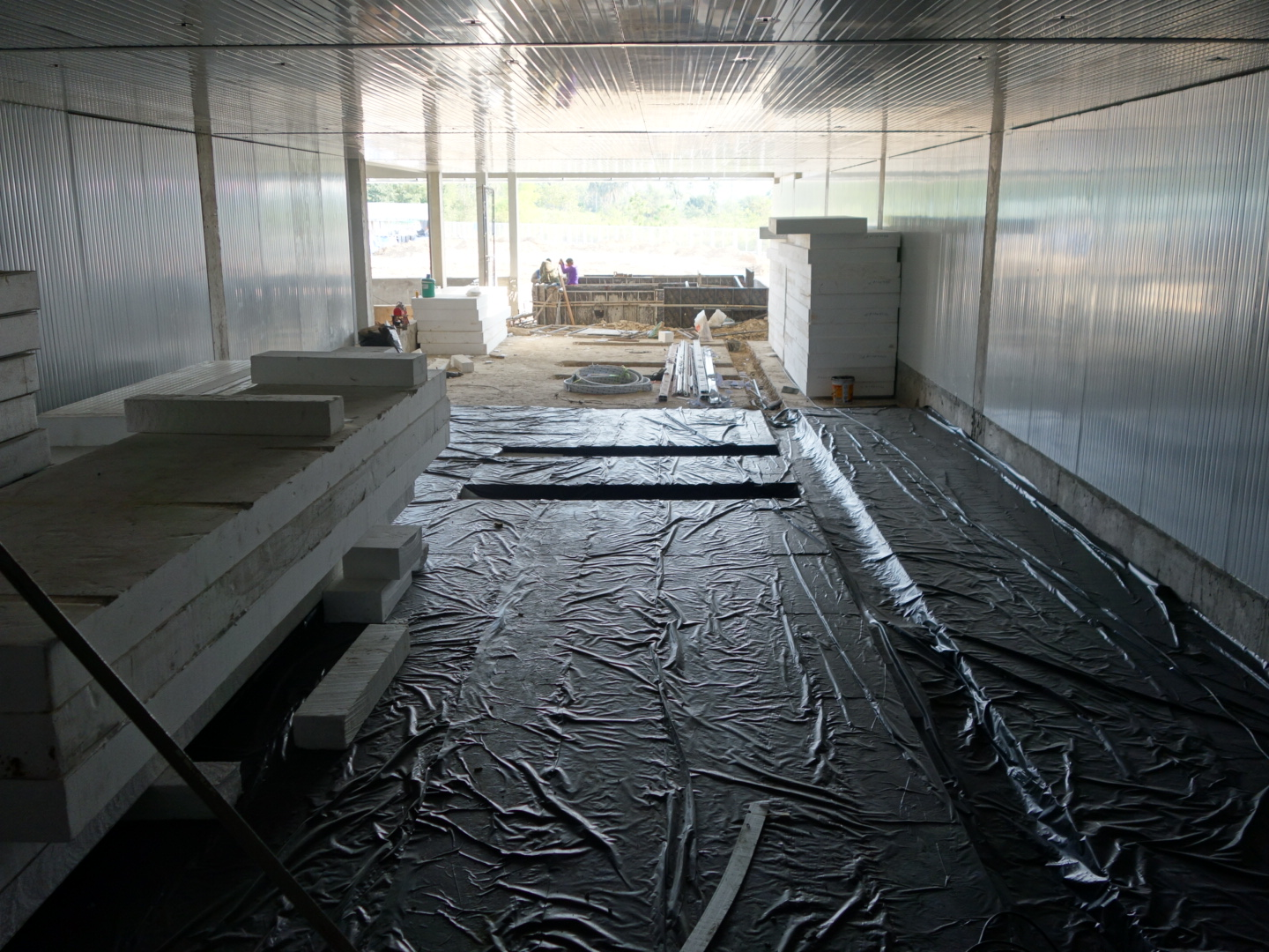 March_2_Floor and wall insulation